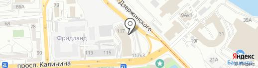 Мебель для Вас на карте Калининграда