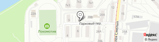 Везёт на карте Калининграда