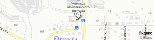 Мобил на карте Калининграда