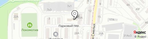 Lagoon на карте Калининграда