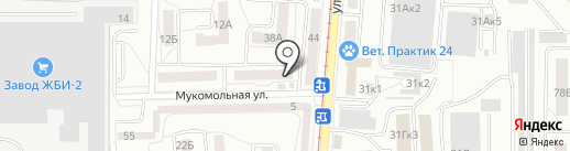 Пункт почтовой связи №7 на карте Калининграда