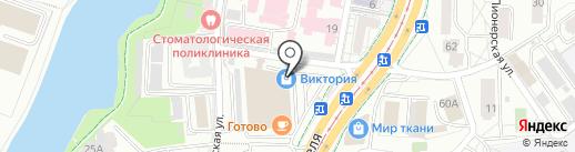 333555 на карте Калининграда
