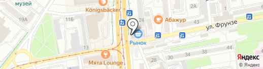 Mr.Kebab на карте Калининграда