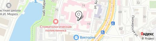 Лаборатория контактной коррекции зрения на карте Калининграда