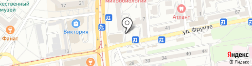 Комиссионный магазин на карте Калининграда