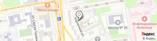 Сталин на карте Калининграда