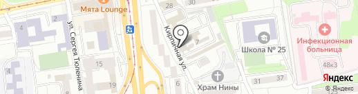 Business Time на карте Калининграда