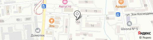 ЦиК на карте Калининграда