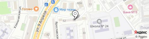 Райдер плюс на карте Калининграда