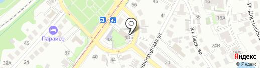 М2 на карте Калининграда