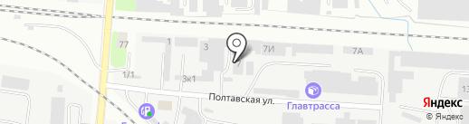 АвтоКомплект на карте Калининграда