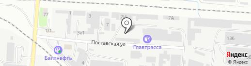 Техснаб на карте Калининграда