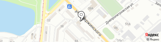 Оптово-розничный магазин крепежа на карте Калининграда
