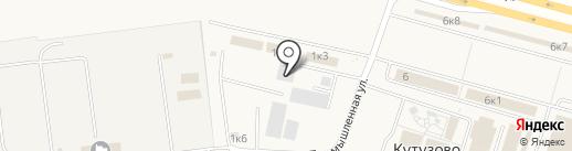 Балт Маркет Групп на карте Кутузово