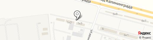 Альфа Кровля на карте Кутузово