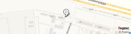 МК Кутузовский на карте Кутузово