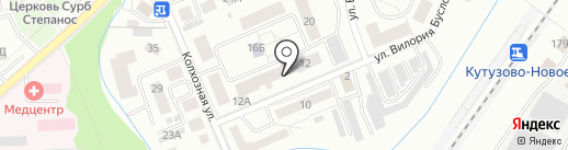Мастер-клуб на карте Калининграда