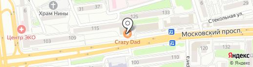 CRAZY DAD на карте Калининграда
