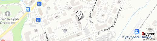 Боцман на карте Калининграда