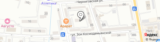 Мастерская по ремонту обуви на карте Калининграда