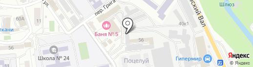 TokyoMotors на карте Калининграда