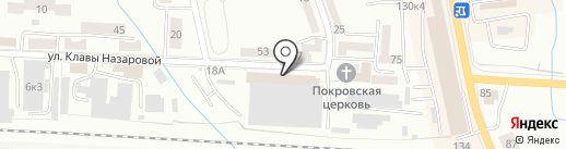 Росвитраж на карте Калининграда