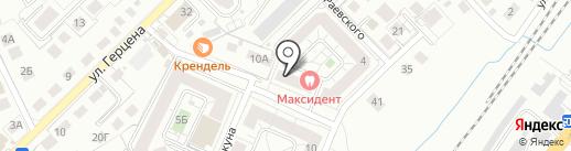 Капсула Здоровья на карте Калининграда