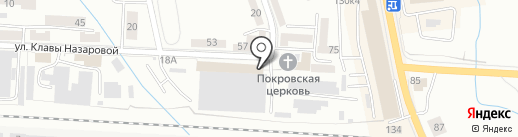 Раут на карте Калининграда
