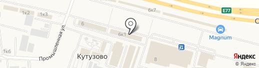 Технобаза на карте Кутузово