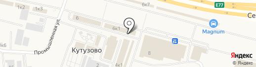 АКВА ТЕХНОЛОГИИ на карте Кутузово