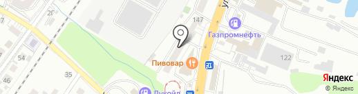 Лотос на карте Калининграда