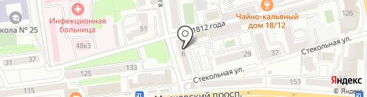 Чай да Мёд на карте Калининграда
