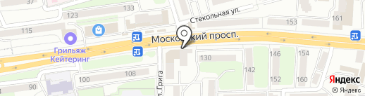 Чемпион на карте Калининграда