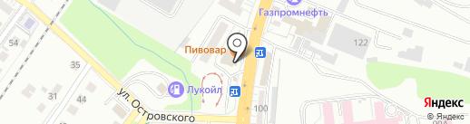 АСА на карте Калининграда