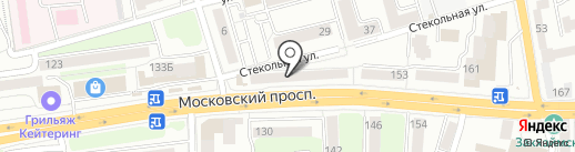 Травы Кавказа на карте Калининграда