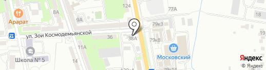 SprintNet на карте Калининграда