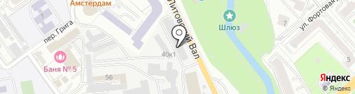 Профи Автостекла на карте Калининграда