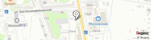 Кафе на карте Калининграда