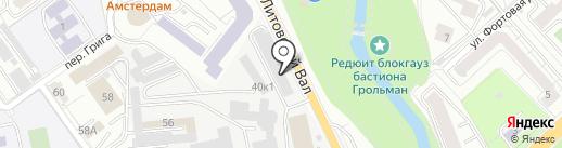 Автопикчер на карте Калининграда