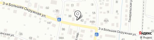 Контакт на карте Калининграда