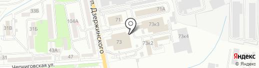 МКСсервис на карте Калининграда