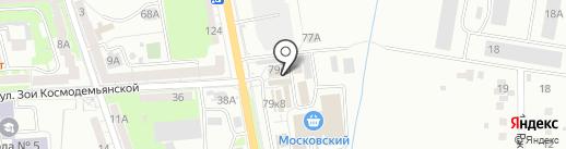 Рыбалка Плюс на карте Калининграда
