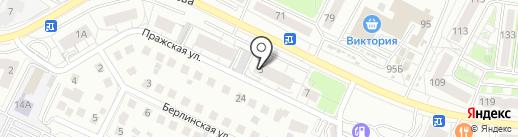 РусьСтройЭкспертиза на карте Калининграда