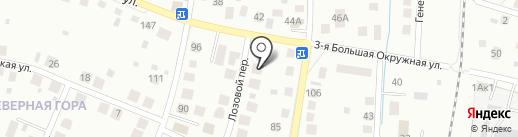 39 Септиков на карте Калининграда