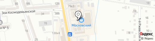 Кораблик на карте Калининграда