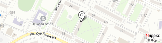 Адвокатский кабинет Зинченко Т.В. на карте Калининграда