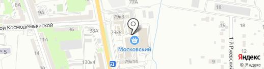 Магазин украшений на карте Калининграда