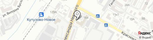 Росвакуум на карте Калининграда