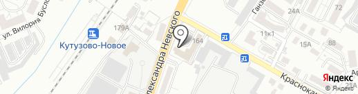 Лал-Авто на карте Калининграда