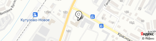 Автомойка на карте Калининграда